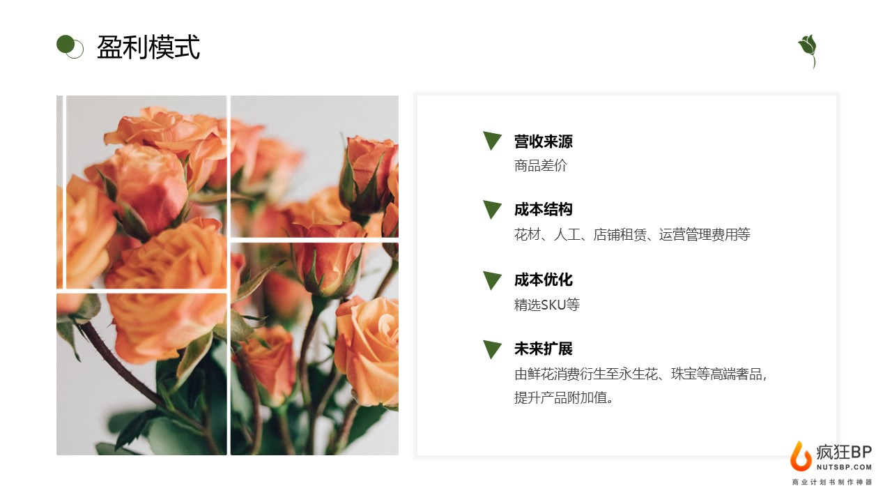 [花予]互聯網鮮花電商日常鮮花配送禮品鮮花商業計劃書模板范文-undefined